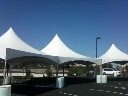 T&P Party Rentals, INC. Frame Tents
